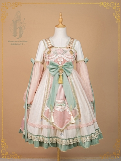 Hidden Spring Elegant Han Lolita Dress OP by Himesama Holiday