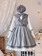 Library Diary Classic Lolita Dress JSK by Hikari