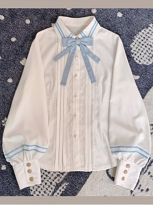 Library Diary Classic Lolita Dress Matching Shirt by Hikari