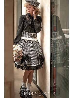 Custom Size Available Qianmuyu Classic Lolita Set Jacket / Skirt by Hinana Queen