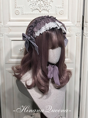 Fanna Lolita Dress Matching Hairband by Hinana Queen