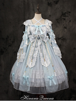 Custom Size Available Gorgeous Fox Spirit Lolita Dress OP by Hinana Queen