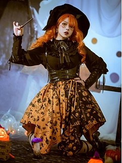 Piercing Halloween Gothic Lolita Girdle by Semi Sweet