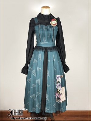Memoirs of Summer Vintage Lolita Dress JSK by Ichigo