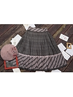 Custom Size Available Autumn Puzzle Vintage Skirt by Ichigo