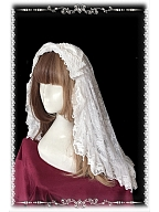 Gothic Lace Lolita Veil - by Infanta