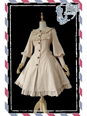Pretty Spring and Autumn Trench Coat by Infanta