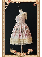 Once Upon a Time Princesses Ball Classic Lolita Dress by Infanta