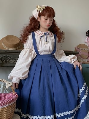 Ranch Maiden Country Lolita Shirt by Jellyfish Lolita