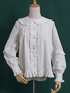 Lady Peter Pan Collar Shirt by Little Dipper