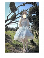 The Angel's Tears II Round Neckline Lolita Dress JSK by LDA