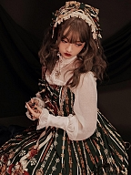 Elegant Lolita Series KC / Hairband / Wristcuffs / Bowknot / Choker by Lefluor