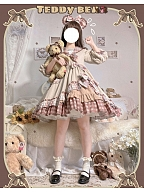 Teddy Bear Classic Lolita Dress OP by Lefluor