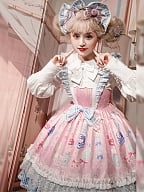 Doll Dresser Sweet Lolita Dress JSK by Lineall Cat