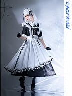 Cyber Maid I Housekeeper Lolita Dress OP Set by Lilith House