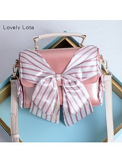 Square Bow Tie Bag by Lovely Lota