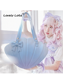Rainbow Gradient Shell Bag by Lovely Lota