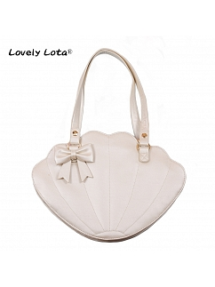 Bow Seashell Bag by Lovely Lota