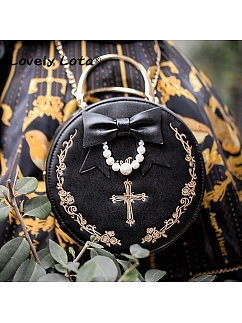 Gothic Cross Vintage Bag by Lovely Lota