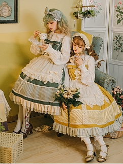 Autumn Ballad Lolita Dress JSK by Maple Algae Lolita