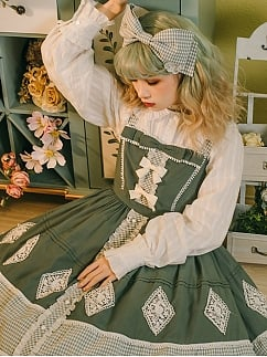 Autumn Ballad Lolita Dress Matching Shirt by Maple Algae Lolita