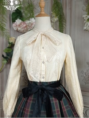 Ode To Joy Elegant Lolita Shirt by Miss Point