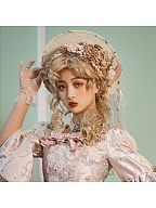 Elizabeth Lolita Dress SP Matching Hat / Bowknot / Train / Gloves by Miss Point