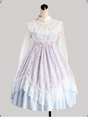 China Tea Rose Elegant Lolita Dress JSK by Milu Forest