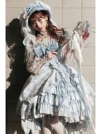 The Falling Feather Daily Version Lolita Dress JSK by MoiMoiHoney