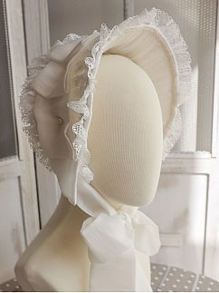 The Falling Feather Daily Version Lolita Bonnet by MoiMoiHoney
