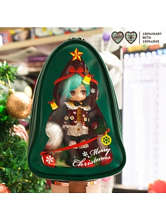 Christmas Tree Molly Lolita Crossbody Itabag OB11 by MINUONUO