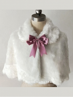 Pearl Bunny Sweet Lolita Cape by Moly Lolita