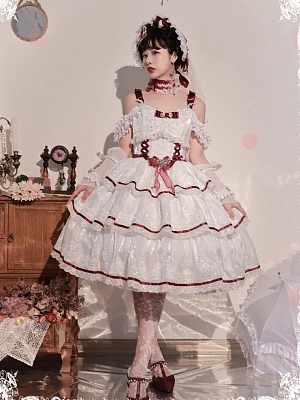 Rose for Love Hanayome Elegant Lolita Dress JSK by Mousse Cat