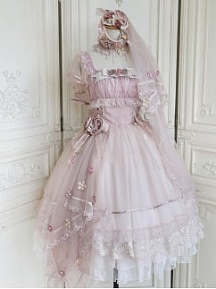 Dolly Little Rose Elegant Lolita Dress JSK by Miracles