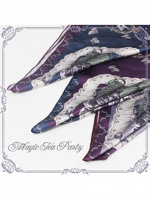 Princess Grape Lolita Dress Matching Scarf by Magic Tea Party
