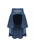 Vintage A-line Tail Skirt by Mr Yi's Steamland