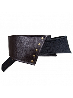 Pirate Style Vintage Rivet Wide Belt by Mr Yi's Steamland
