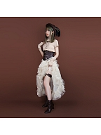 Steampunk Faux Leather Thigh Loop by Mr Yi's Steamland