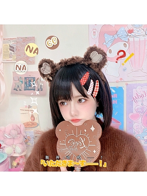 Lazy Teddy Bear Plush Lolita KC by Nanaco