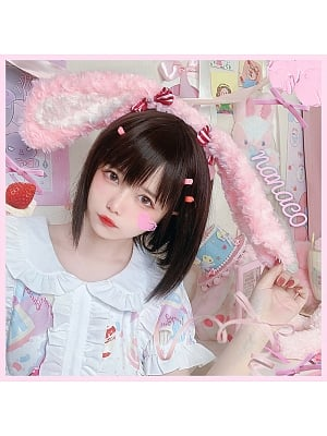 Cake Teddy Bear / Strawberry Bunny Lolita KC by Nanaco