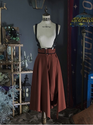 Metal Rose Military Lolita Breeches and Overskirt by Neo Ludwig