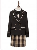 The Confession of First Love JK Uniform Plaid Skirt by Nikki Tomorrow