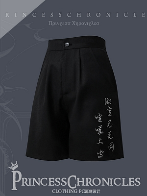 Pomegranate Series Ouji Lolita Shorts by Princess Chronicles