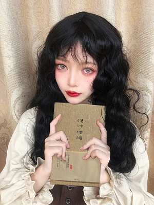 Popular Cute Wavy Lolita Wig with Bangs by Pippi Palace