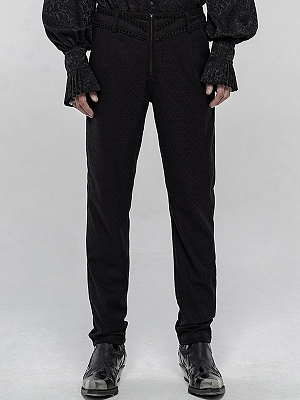 Men's Gothic Jacquard Gorgeous Pants by Punk Rave