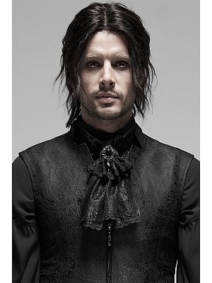 Men's Gothic Rococo Goegeous Bow Tie by Punk Rave