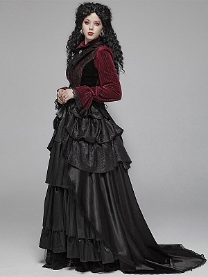 Gothic Palace Floor-length Skirt by Punk Rave