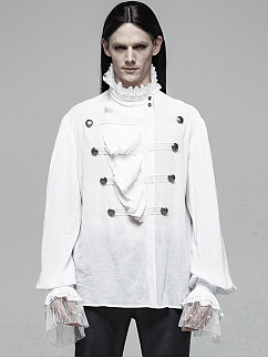 Men's Gothic Gorgeous Long Sleeves Shirt by Punk Rave