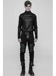 Men's Gothic Steampunk Armor Trousers by Punk Rave