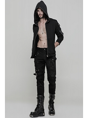 Men's Gothic Personality Vintage Trousers by Punk Rave